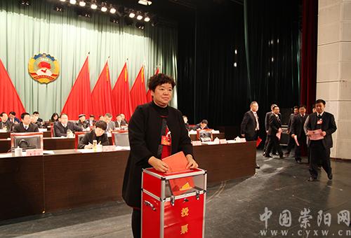 政协崇阳县第十届委员会第一次会议召开选举大会